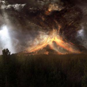 Searching Light In An Ash Cloud