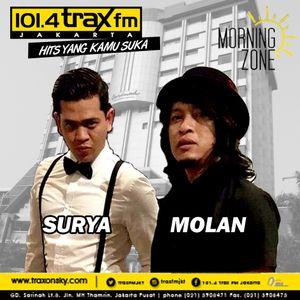 Surya Molan MorningZone TraxFMJKT 16 Januari 2017