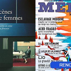 Rencontre  C'est aujourd'hui le 8 mars! (I)  Sylvie Martin-Lahmani, Chloé Andries & Caroline Godart