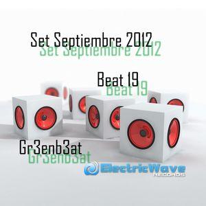 Beat 19 Greenbeat Set Septiembre 2012