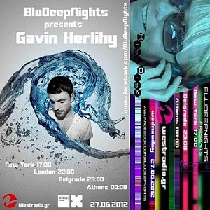 BluDeepNights on Westradio Vol.14 Gavin Herlihy and Miss Disk
