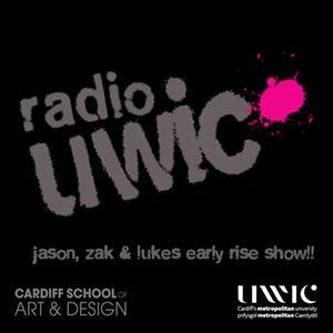 Zak, John & Luke's Early Rise Show on Radio UWIC