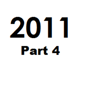 Great Tunes of 2011 - Part 4