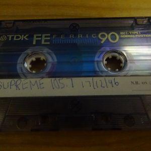 Neil Edwards Supreme FM 105.7 17th December 1996 Pt1