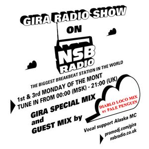 GIRA RADIOSHOW on NSB RADIO, 6 AUGUST