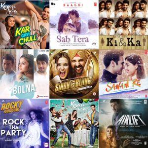 2016 : NEW Bollywood Music #01
