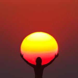 watching the sunrise...