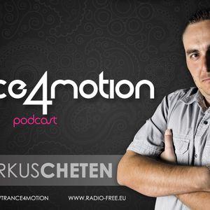 trance4motion #34 mixed by Markus Cheten 28-01-2013