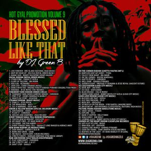 Dj Green B - Hot Gyal Promotion Volume 9, Blessed Like That (Mix)(October, 2015)