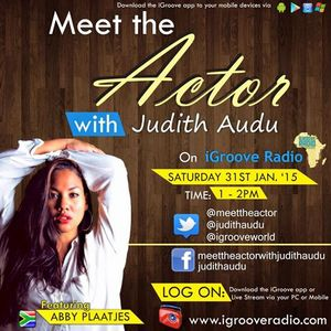Interview with ABBY PLAATJES on Meet The Actor with Judith Audu