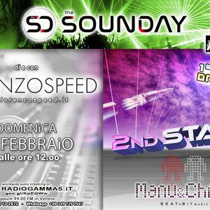 LORENZOSPEED* presents THE SOUNDAY Radio Show Domenica 28 Febbraio 2021 w 2nd stage 4 the firstime