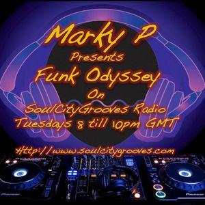 Episode 75 Marky P presents - Funk Odyssey Back2Funk 24th July 2012