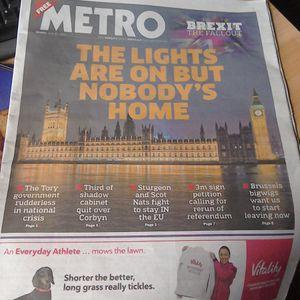 Metro Monday 2: 'Brexit' Special - Coastway Hospital Radio