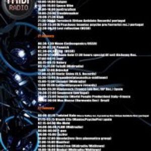 Pannick-Dark Psychedelic Trance mix (Midiradio Sessions-20/1/12)