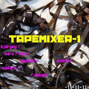 TAPEMIXER-1_workshop live impro@BAL by: BJARGEY / MARA / MAX / YANNICK / ANDRIS / MADARA / MAKSIS