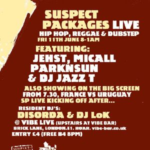 Suspect Packages Radio Show (June 2010)