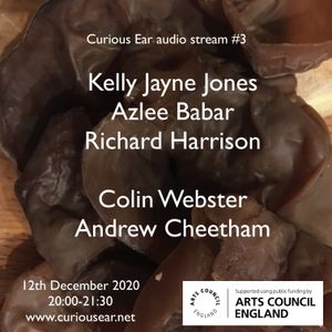 Saturday 12th December 2020 broadcast w/ Colin Webster, Andrew Cheetham, Kelly Jayne Jones & friends