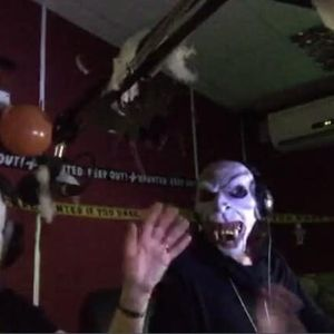 The one where its halloween, an unsucessful call to air and spooky music and cake