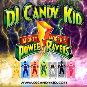 DJ Candy kid - Mighty Morphin Power Ravers (live)