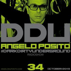 ANGELO POSITO - Dark Dirty Underground (OCTOBER 2015)