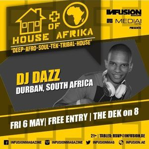DJ Dazz - House Of Afrika Set (6/5/2016)