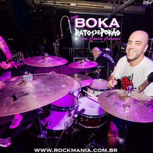 Rock Mania #406 - com Boka, do Ratos de Porão - 26/04/20