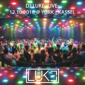 DJ Luke -4 hour livecut- @ WG ABI PARTY @ YORK, Kassel (12th October 2018)