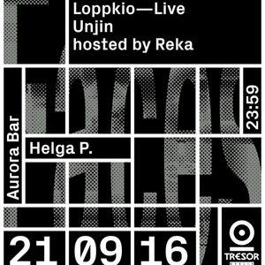 Live at Tresor 21/09/2016