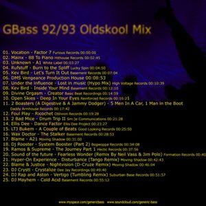 92/93 Oldskool Hardcore Breakbeat