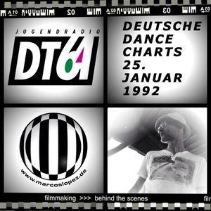 Radio Show - Marcos López - dt64 - Deutsche Dance Charts - 25. Januar 1992 - Part 1