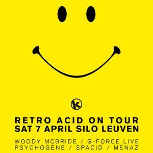 """Woody McBride at """"Retro Acid On Tour"""" @ Silo (Leuven - Belgium) - 7 April 2007"""