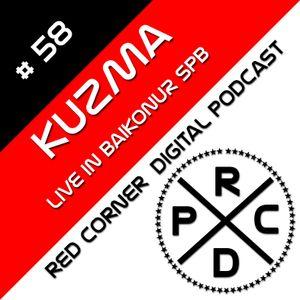 KUZMA - Red Corner Digital Podcast#58(live in BAIKONUR club. SPB)