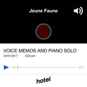 Jeune faune Voice memo & piano solo - 24/01/17