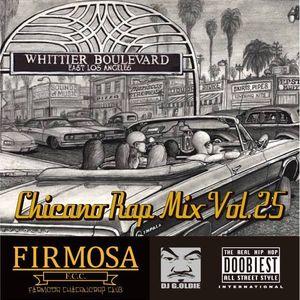 Chicano Rap MIX VOL.25