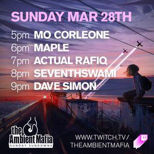 Sunday Sundowns with The Ambient Mafia (03-28-2021)