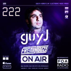 Freakhouze On Air 222 Mix by ● Guy J