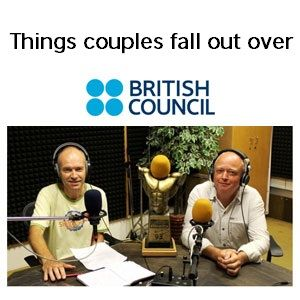 Things couples fall out over - English Language Corner