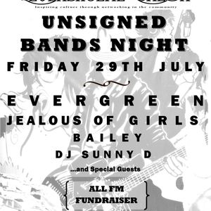 Jealous of Girls interview with Levenshulme Salon - Unsigned Bands Night Preview