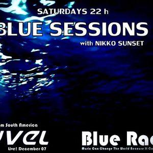 LYVEL @ Blue Radio (Sessions by Niko Sunset 7.12.13)