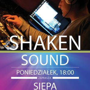 Shaken Sound 013 live @ clubsound.pl