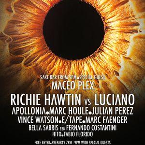 Richie Hawtin vs Luciano - Live @ ENTER.Main Week 03 (Space, Ibiza) - 17.07.2014