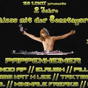 """Fips aka dünna @ """"Schluss mit der Sonntagsruhe"""" on laut.fm/techno-paradize 26.01.14"""