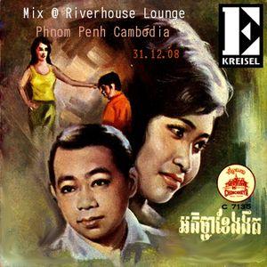 E-Kreisel@Riverhouse Lounge Phnom Penh 31.12.08