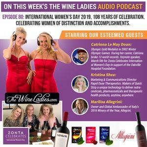 Episode 80: International Women's Day 2019; Catriona Le May Doan, Kristina Shea, Marilisa Allegrini