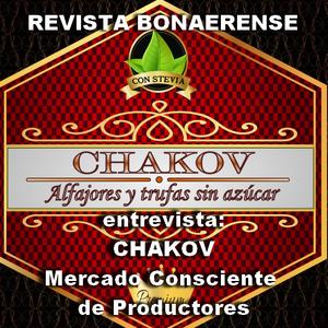 19/10/2017 REVISTA BONAERENSE entrevista a Joel  y su emprendimiento Chakov - Alfajores sin azucar