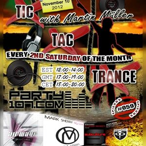 Tic Tac Trance #059 with Martin Mueller