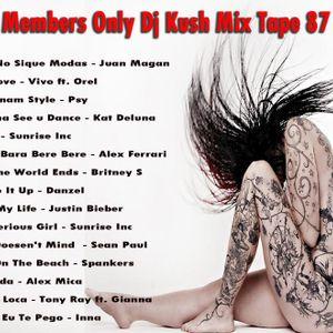 Club Members Only Dj Kush Mix Tape 87