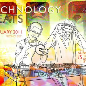 TWCHNOLOGY - The Sunset is the Sound System  Promo Set January 2011