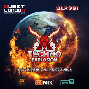 Techno Explosion Exclusive QLR001   Doc Idaho & DJCokane