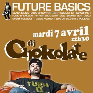 Mix DJ Chokolate for Future Basics Radio Show - 07/04/09